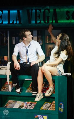 "Nic Huart and Laura Friedrich (""In the Heights"")"